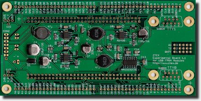 Development Board / Experimental Bord 1.1 for USB-FPGA Boards