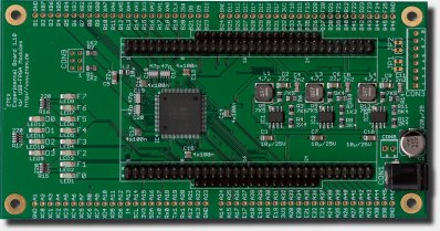 USB-FPGA Module Experimental Bord 1.10 for USB-FPGA Modules 1.*