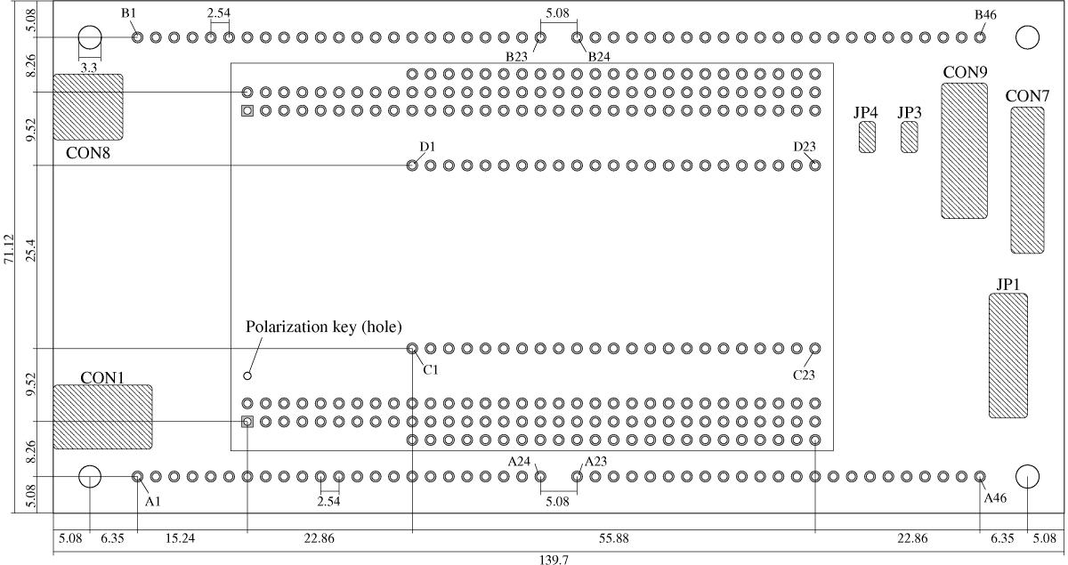 Entwicklungs-Board / Experimentier-Board 1.3 für FPGA Boards der Serie 1