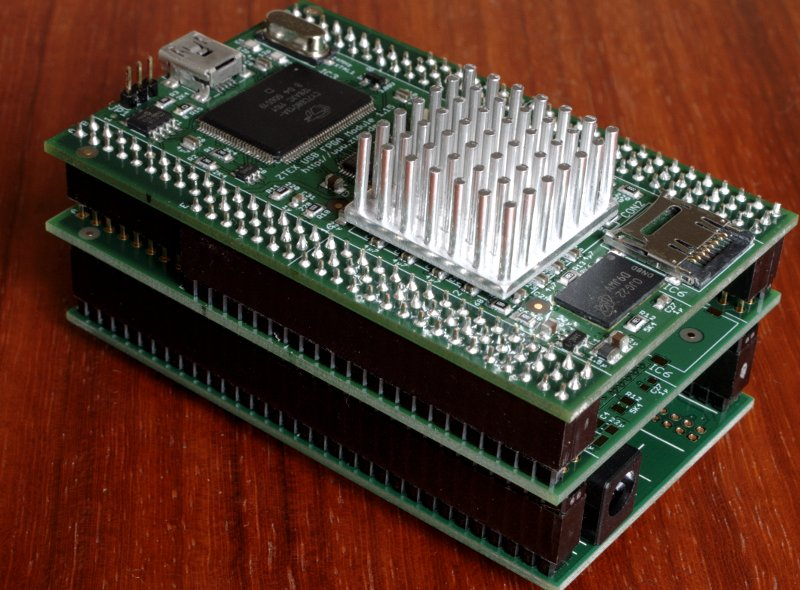 Spartan 6 LX45 to LX150 USB-FPGA Module 1.15 with power Supply 1.1
