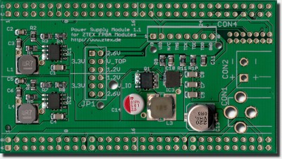 Power Supply 1.1 for USB-FPGA Modules 1.*