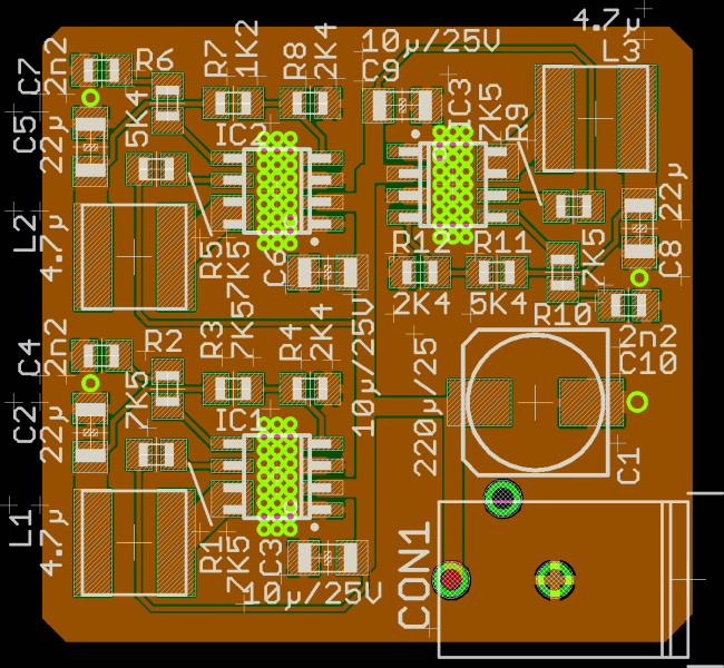 Recommended PCB Design for Reference Power Supply 1