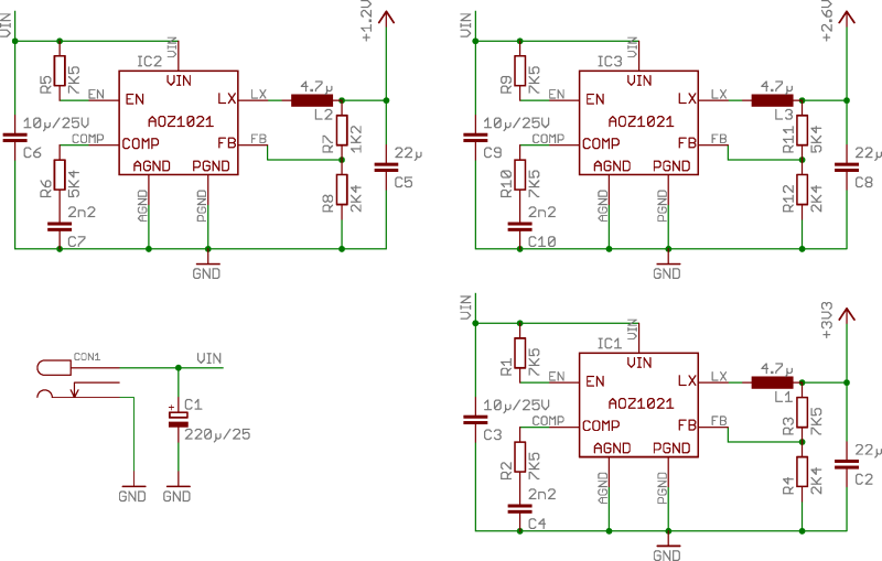 Reference Power Supply 1 schematics