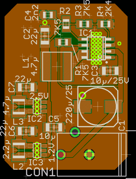 Recommended PCB Design for Reference Power Supply 2