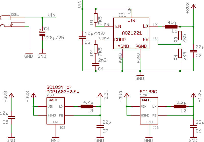 Reference power supply 2 schematics