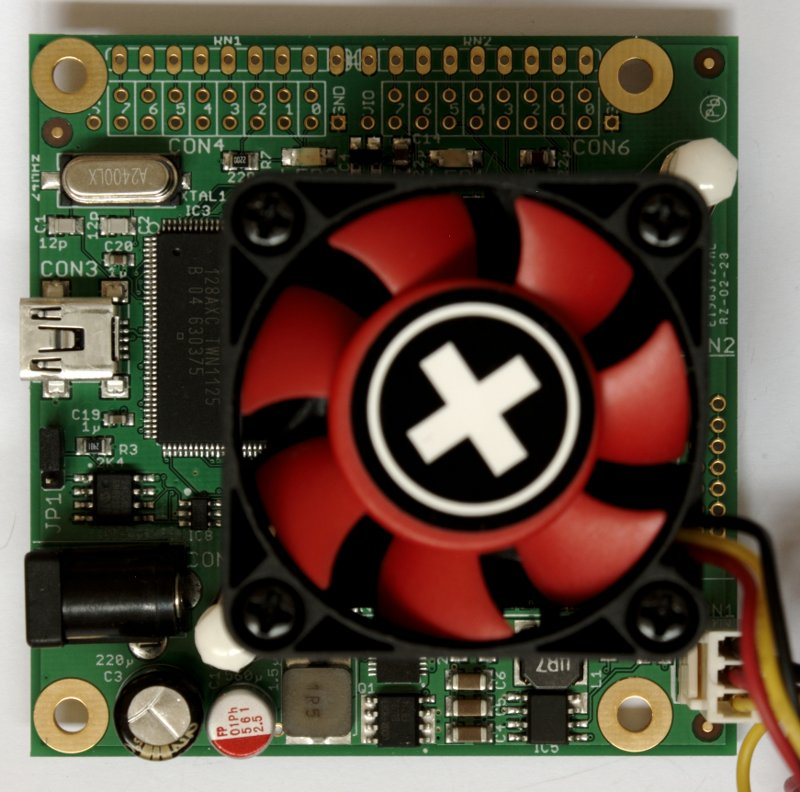 Spartan 6 XC6SLX150 FPGA board for bitcoin mining