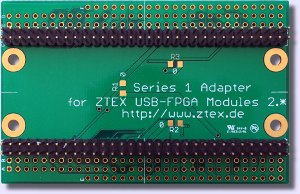 Series 1 Adapter for Series 2 FPGA Boards