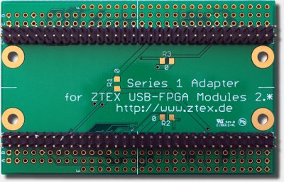 Serie-1-Adapter für ZTEX Serie-2-FPGA-Boards