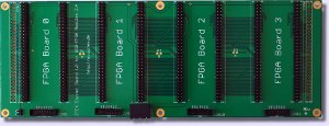 Cluster Base Board for Series 2 FPGA Boards