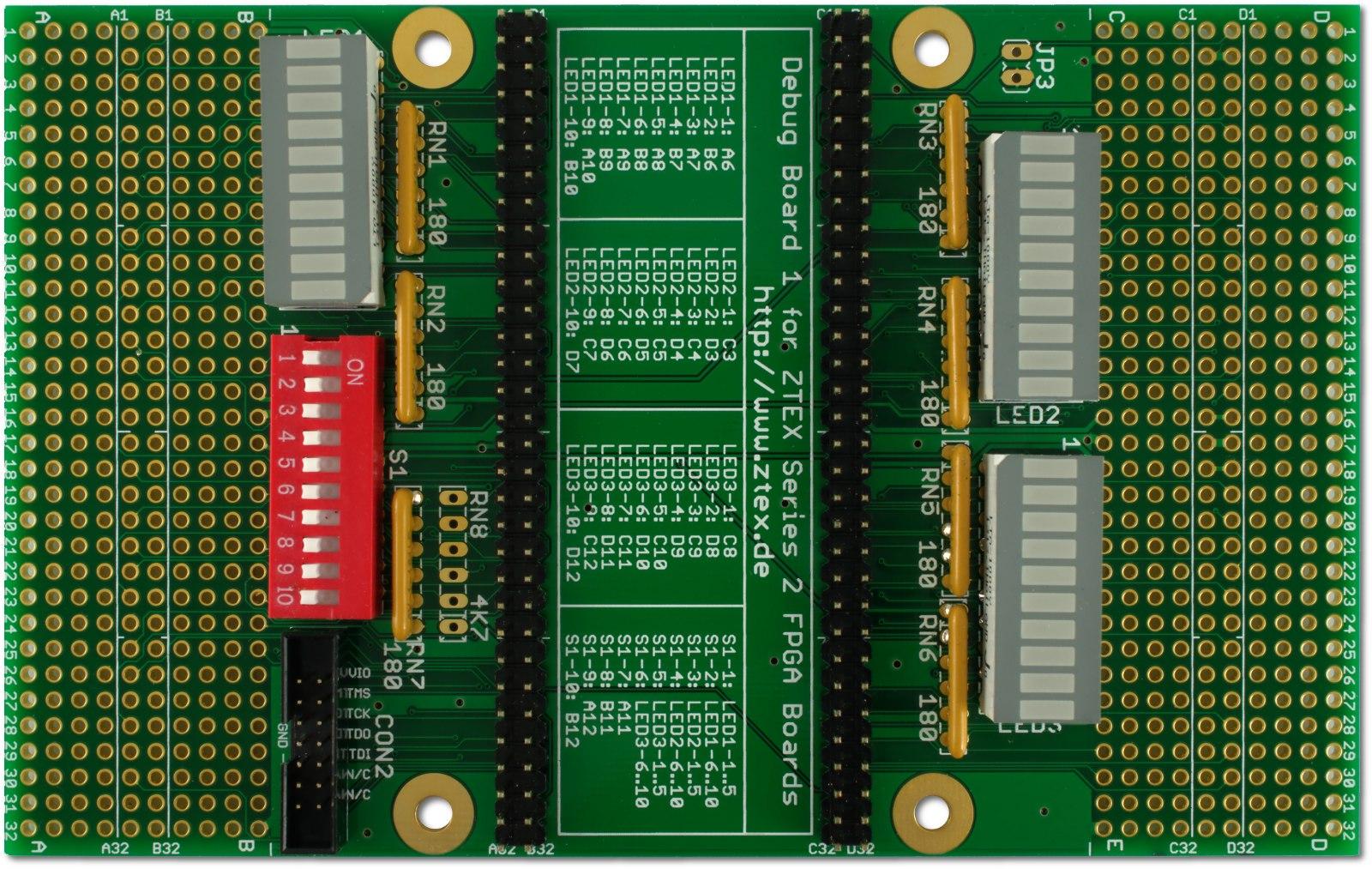 Debug Board for Series 2 FPGA Boards