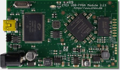ZTEX FPGA Board with Artix 7, DDR3 SDRAM and USB 2.0