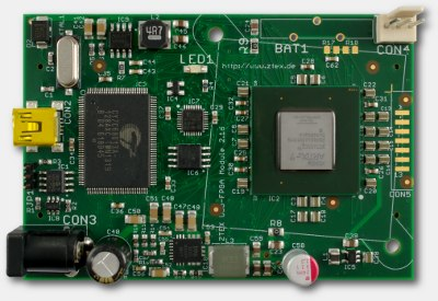 ZTEX FPGA Board with Spartan 7 XC7A200T and USB 2.0