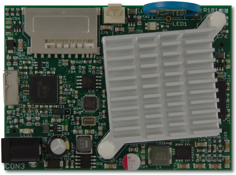 ZTEX FPGA Board with Artix 7 XC7A200T and heat sink